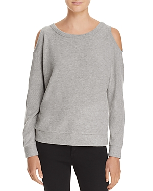 Chaser Cold Shoulder Dolman Sweatshirt