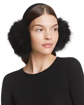 Surell - Fox Fur Earmuffs