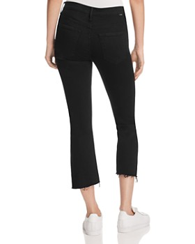 MOTHER - Insider Crop Step Fray Jeans in Not Guilty