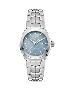 TAG Heuer Link Grey Mother-Of-Pearl Watch, 32mm - Bloomingdale's_0