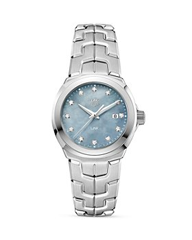 TAG Heuer - Link Grey Mother-Of-Pearl Watch, 32mm