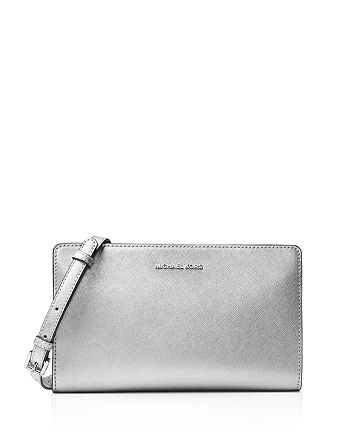 MICHAEL Michael Kors - Jet Set Travel Large Metallic Crossbody