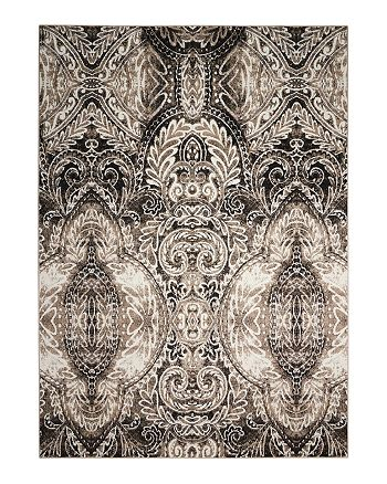 "Nourison - Michael Amini Glistening Nights Rug - Abstract, 9'10"" x 13'"