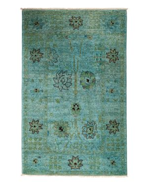 Solo Rugs Vibrance Overdyed Area Rug, 4'1 x 6'5