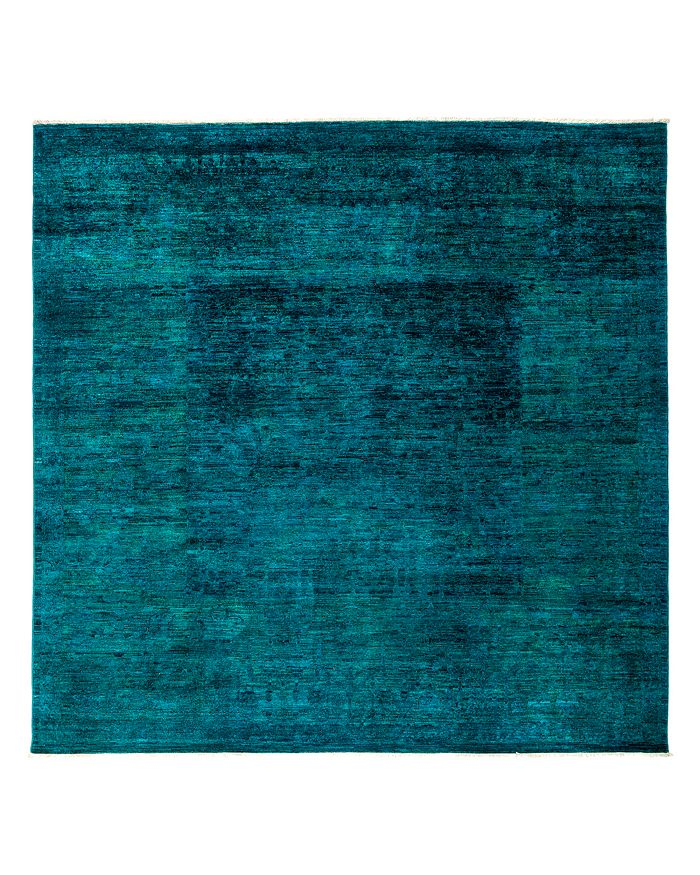 """Solo Rugs - Vibrance Overdyed Area Rug, 8'2"""" x 8'2"""""""