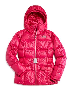 The North Face Girls Hooded Down Puffer Jacket  Big Kid