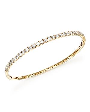Diamond Bangle in 14K Yellow Gold, 2.50 ct. t.w. - 100% Exclusive