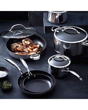Scanpan - CTP Mirror Polished Stainless Steel 2.75-Quart Covered Sauté Pan - 100% Exclusive