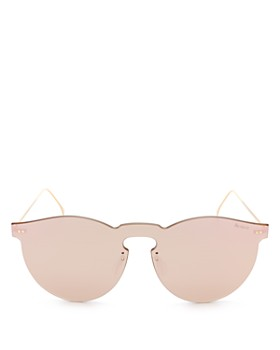 Illesteva - Leonard Mirrored Shield Sunglasses, 55mm