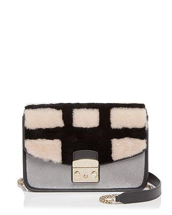 Furla - Metropolis Fur Small Shoulder Bag