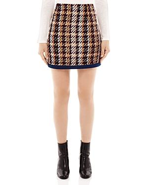 Sandro Tweed Mini Skirt