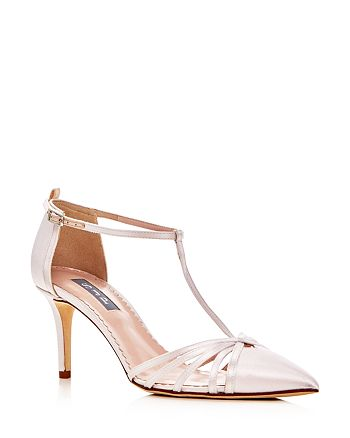 SJP by Sarah Jessica Parker - Women's Carrie T Strap Pointed Toe Pumps