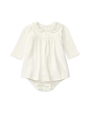 Ralph Lauren Childrenswear Girls' Pointelle Collar Knit Dress & Bloomer Set - Baby