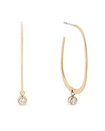 Michael Kors - Hoop Drop Earrings