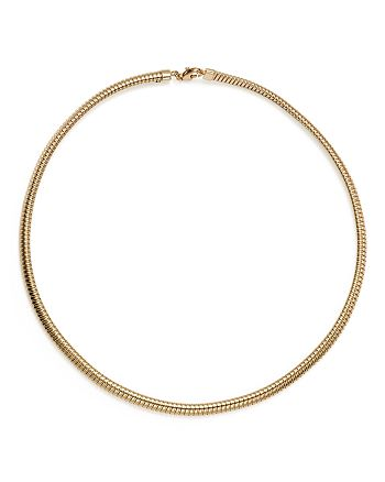 "Bloomingdale's - 14K Yellow Gold Tubogas Necklace, 17"" - 100% Exclusive"
