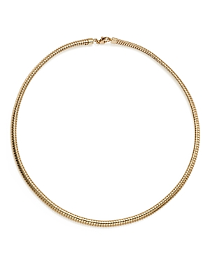 14K Yellow Gold Tubogas Necklace, 17 - 100% Exclusive