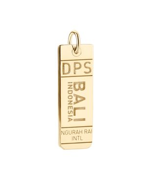 Jet Set Candy Dps Bali Luggage Tag Charm