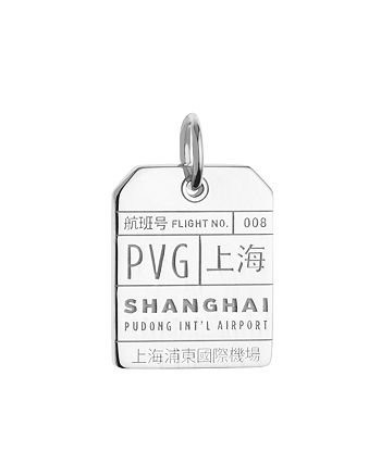 Jet Set Candy - PVG Shanghai Luggage Tag Charm