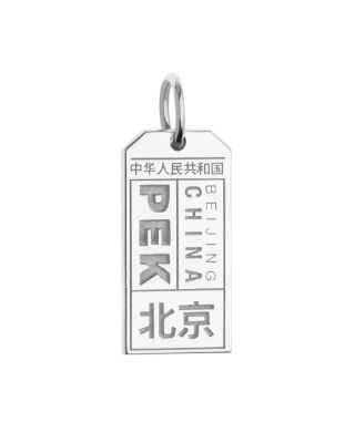 JET SET CANDY PEK BEIJING LUGGAGE TAG CHARM