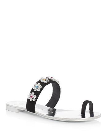 1d2db80c2 Giuseppe Zanotti - Nuvorock Swarovski Crystal Embellished Slide Sandals