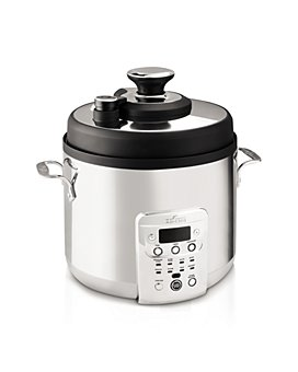 All-Clad - Electric Pressure Cooker with Nonstick Ceramic Pot