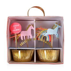 Meri Meri Unicorns Cupcake Kit