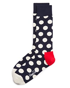 Happy Socks Men's Big Dot Socks - Bloomingdale's_0