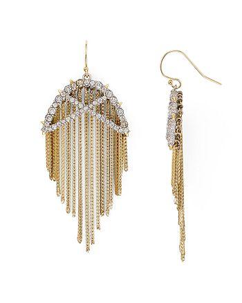 Alexis Bittar - Lattice Fringe Drop Earrings