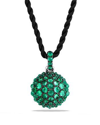 David Yurman - Osetra Pendant Necklace with Green Onyx