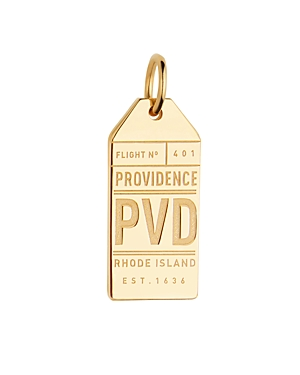 Jet Set Candy Providence, Rhode Island Pvd Luggage Tag Charm