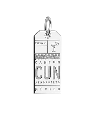 Jet Set Candy Cancun, Mexico Cun Luggage Tag Charm
