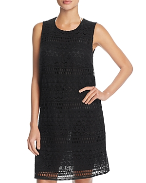 Gottex Pearl Goddess Crochet Dress Cover-Up