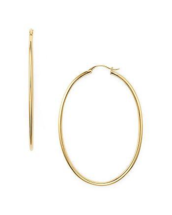 Nadri - Oval Hoop Earrings