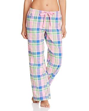 Lauren Ralph Lauren Plaid Pajama Pants