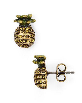 MARC JACOBS - Pineapple Stud Earrings