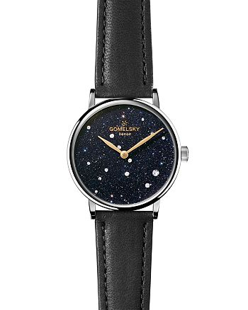 Gomelsky - The Agnes Varis Strap Watch with Diamonds, 32mm