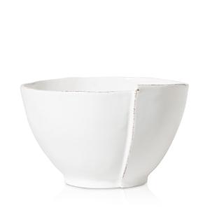 Vietri Lastra White Deep Serving Bowl