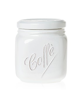 VIETRI - Lastra White Large Canister