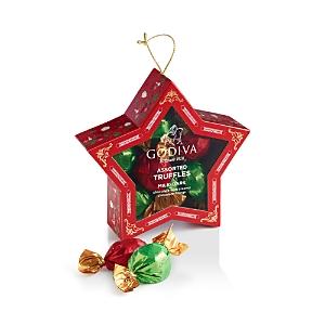 Godiva Assorted Truffles Holiday Star Ornament