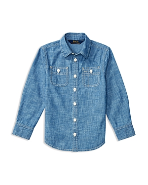 Ralph Lauren Childrenswear Girls Chambray Shirt  Sizes 26X