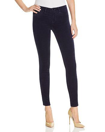 J Brand - Skinny Velvet Jeans in Blue Iris