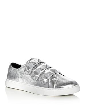 Rebecca Minkoff Becky Metallic Stud Strap Sneakers