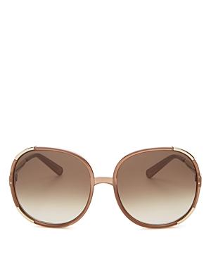 ac3733582d94 UPC 886895273374 - Chloe Myrte Round Oversized Sunglasses