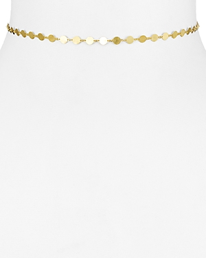 18K Gold-Plated Sterling Silver Disc Choker Necklace