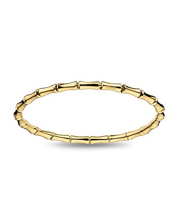 Gucci - 18K Yellow Gold  Bamboo Extra-Small Extension Bangle