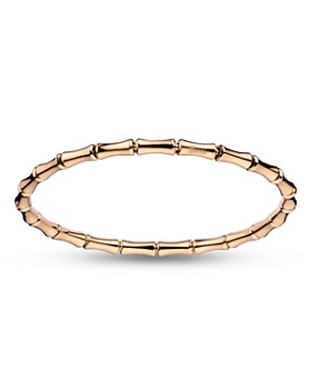Gucci Extra Small Bamboo Extenstion Bangle In 18k Pink Gold