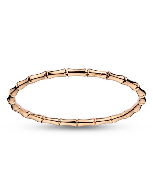 Gucci - Extra-Small Bamboo Extenstion Bangle in 18K Pink Gold