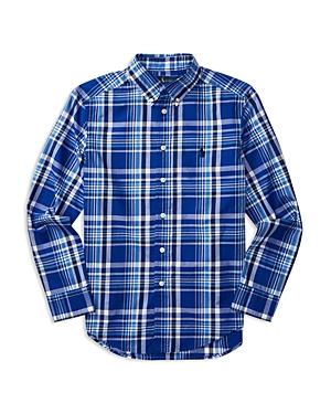 Ralph Lauren Childrenswear Boys Plaid Poplin Shirt  Sizes Sxl