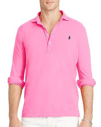 6bd000930 Polo Ralph Lauren Featherweight Mesh Slim Fit Polo Shirt ...