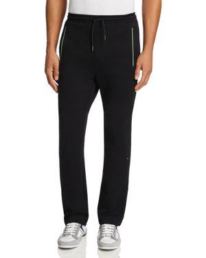 BOSS GREEN Green Hadim Piped Sweatpants in Black